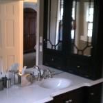 Vanity area / cabinetry.